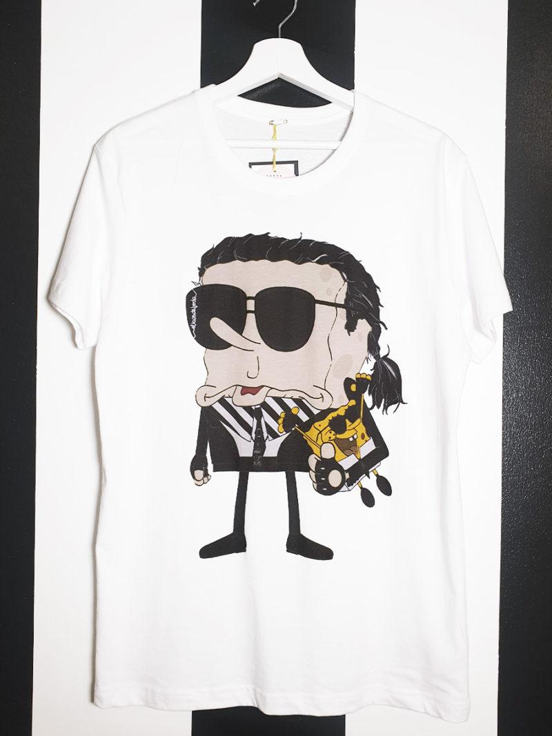 camiseta algodón Karl Bob